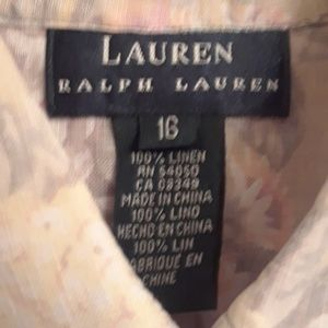 LAUREN RALPH LAUREN LADIES SHIRT